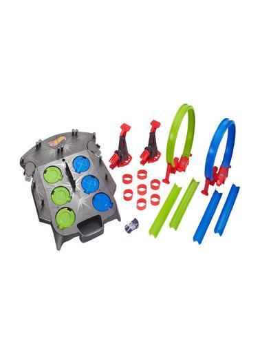 Hot Wheels  Track Builder Bloklu Köprü Yarışı Oyun Seti Fdf27 Renkli